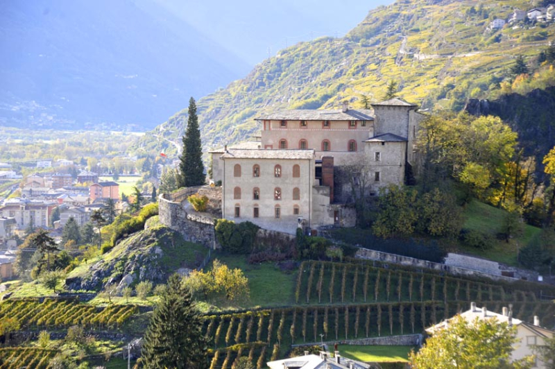 Castel Masegra (foto GuideAlpineLombardia)