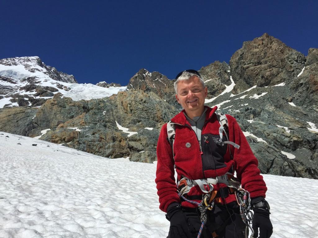 Il presidente delle Guide Alpine lombarde Luca Biagini (foto Ufficio stampa Guide Alpine Lombardia)